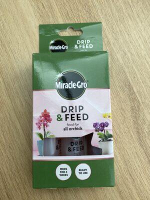 Miracle-Gro Drip & Feed.